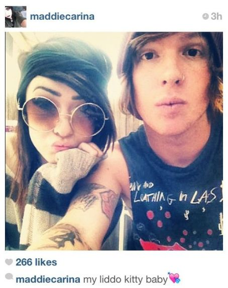 Alan Ashby  and Maddie Ciciliot