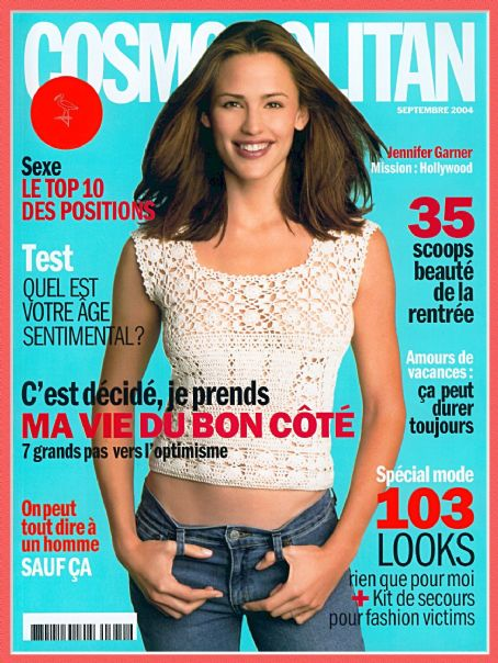 Jennifer Garner - Cosmopolitan Magazine Cover [France] (September 2004)