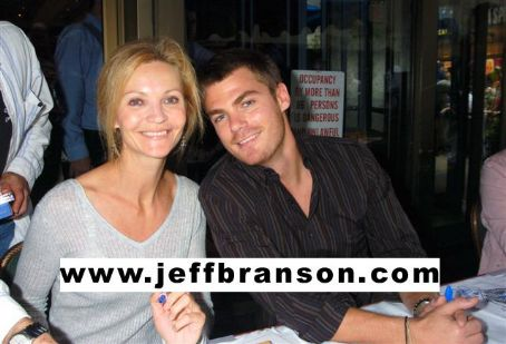 Jeff Branson and Joan Allen