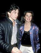 Daphne Zuniga  and Jason Gedrick