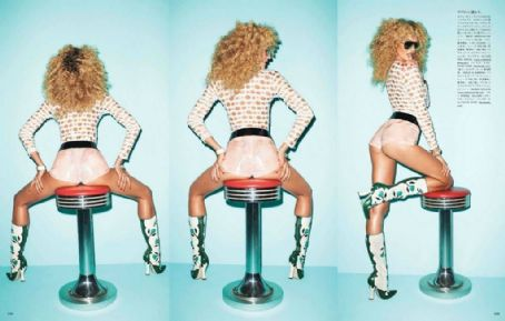 Terry Richardson Candice Swanepoel Vogue Japan June 2012