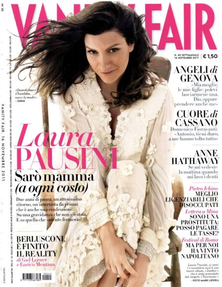 Laura Pausini - Vanity Fair Magazine Cover [Italy] (November 2011)