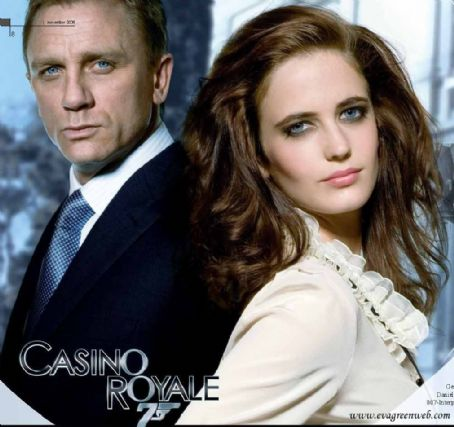 Casino Royale Eva Green and Daniel Craig in  Publicity (2006)