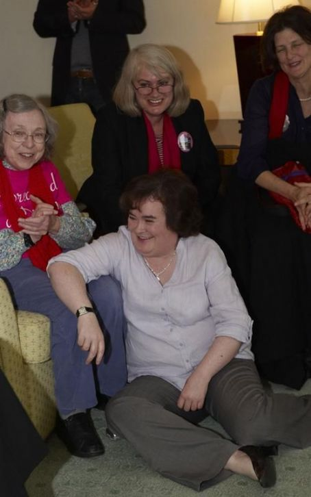 Susan Boyle Celebrates Her Birthday