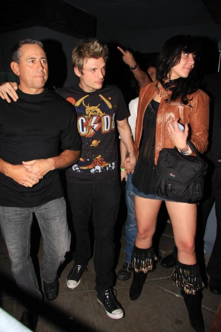 Lauren Kitt Nick Carter Birthday Party