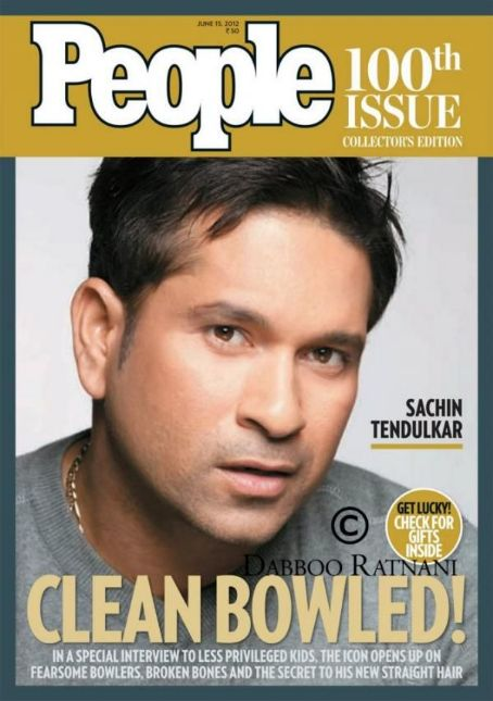 Sachin Tendulkar  - People Magazine Pictorial [India] (15 June 2012)