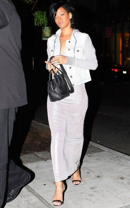 Rihanna's Late Night Big Apple Dinner