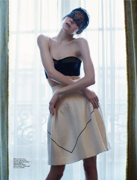 Kinga Rajzak - Harper's Bazaar Magazine Pictorial [Singapore] (February 2012)
