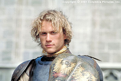 A Knight's Tale Heath Ledger stars as would-be knight William Thatcher in the Columbia Pictures presentation, A Knight's Tale - 2001