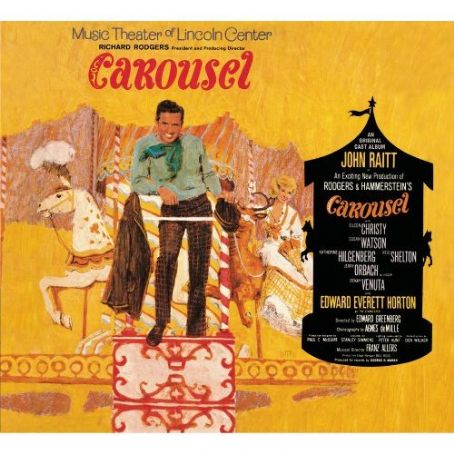 Jerry Orbach CAROUSEL  1965 SUMMER MUSIC THEATRE OF LINCOLN CENTER REVIVEL WITH JOHN RAITT