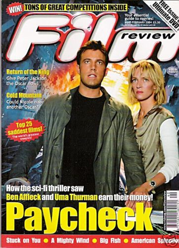 Uma Thurman - Film Review Magazine [United Kingdom] (February 2004)
