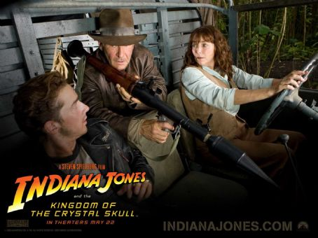 Marion Ravenwood Indiana Jones and the Kingdom of the Crystal Skull Wallpaper