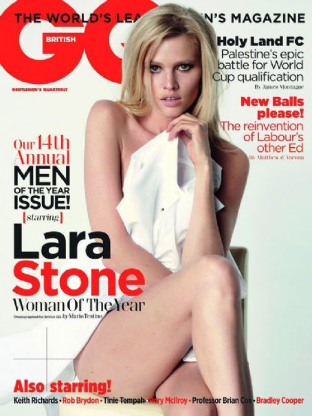 Lara Stone - GQ Magazine Cover [United Kingdom] (1 October 2011)