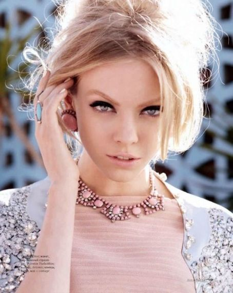 Skye Stracke  - Elle Magazine Pictorial [Russia] (April 2012)
