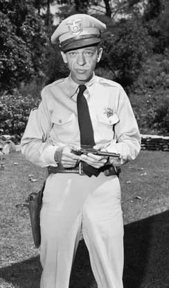 Don Knotts  as Barney Fife