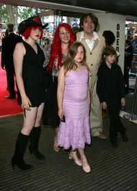 Jonathan Ross and Jane Goldman - Jonathan Ross and Family