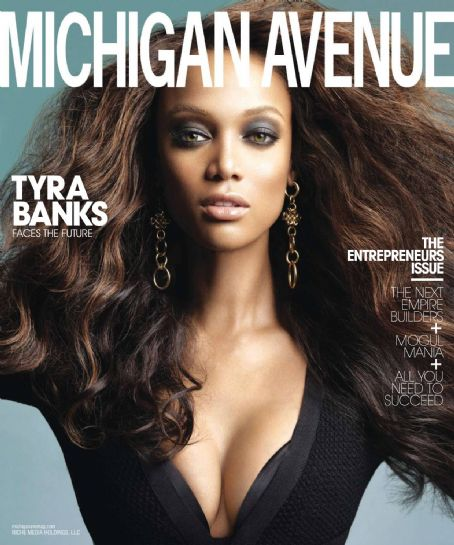 Tyra Banks - Michigan Avenue Magazine [United States] (May 2010)
