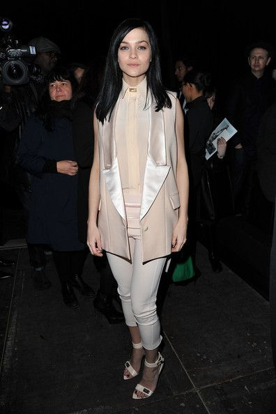 Leigh Lezark at the Givenchy Ready-To-Wear Fall/Winter 2012 Show