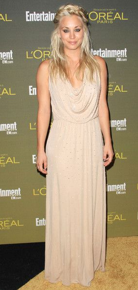 Kaley Cuoco: attends the 2012 Entertainment Weekly Pre-Emmy Party at the Fig & Olive in West Hollywood