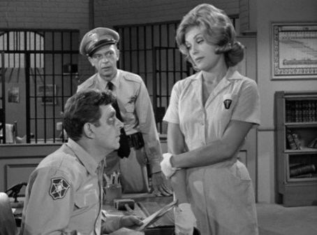Joanna Moore as Peggy on The Andy Griffith Show