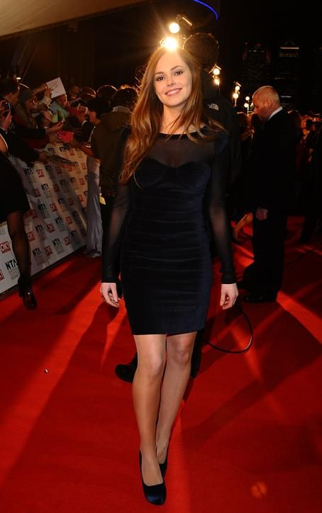Hannah Tointon - National Television Awards - 26.01.2011