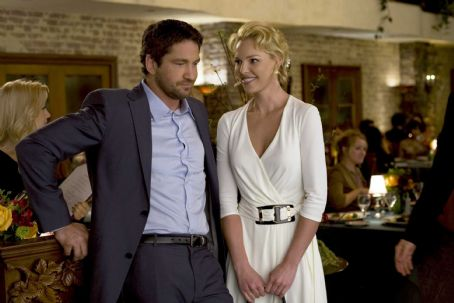 Gerard Butler and Katherine Heigl star in Columbia Pictures' comedy THE UGLY TRUTH. Photo By:  Saeed Adyani. © 2009 Columbia Pictures Industries, Inc.  All rights reserved.