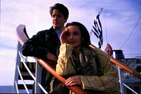 Bitter Moon Hugh Grant and Kristin Scott Thomas in  (1992)