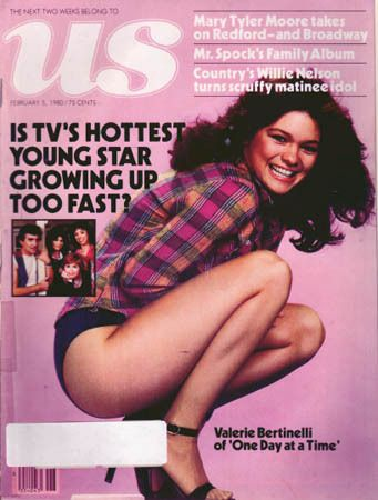 Valerie Bertinelli - US Magazine Cover [United States] (5 February 1980)