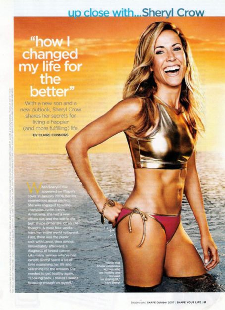 Sheryl Crow - Shape Magazine Pictorial [United States] (October 2007)