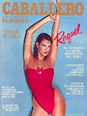 Raquel Welch - Playboy Magazine Cover [Mexico] (December 1979)