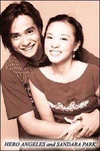 Hero Angeles and Sandara Park