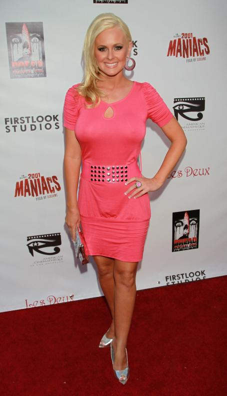 Katie Lohmann - Los Angeles Premiere Of '2001 Maniacs: Field Of Screams' At The Egyptian Theatre On July 15, 2010 In Hollywood, California