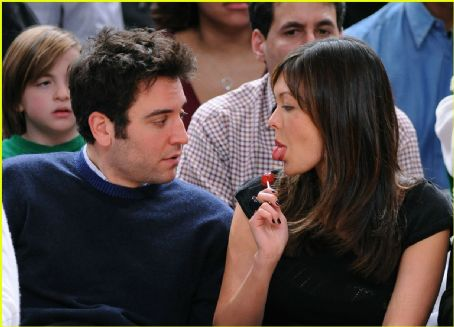Josh Radnor  and Lindsay Price