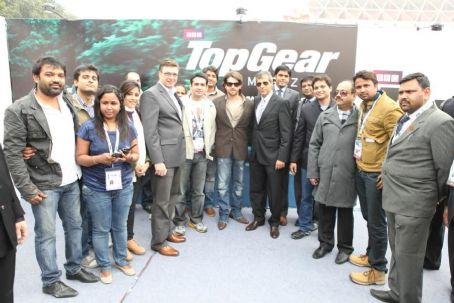Neil Nitin Mukesh At Volkswagen TopGear Lounge For Think Blue