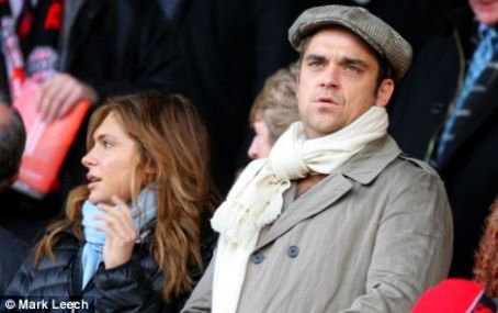 Ayda Field Robbie Williams and