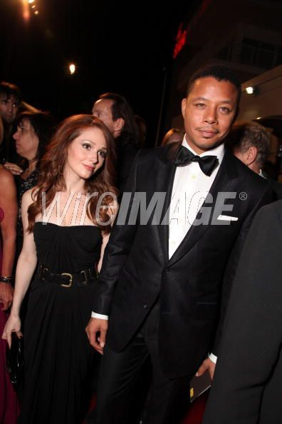 Terrence Howard  & Stephanie Abram