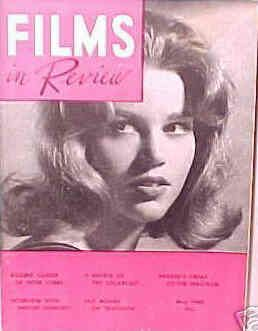 Jane Fonda - Films in Review Magazine [United States] (May 1960)