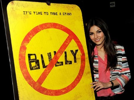 Victoria Justice attended the premiere of Bully held at the Mann Chinese 6 in Los Angeles last night, March 26