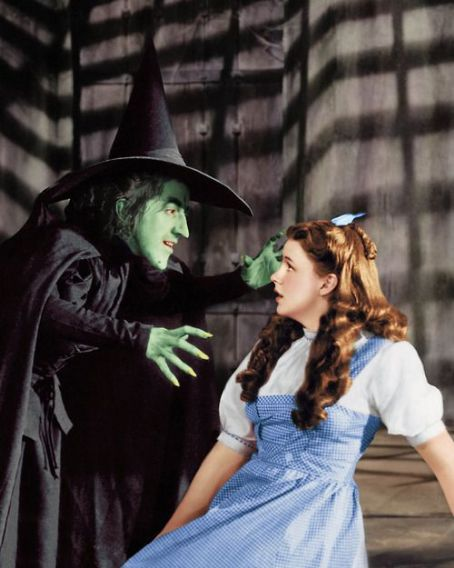 Margaret Hamilton Margaret with Judy Garland in The Wizard of Oz