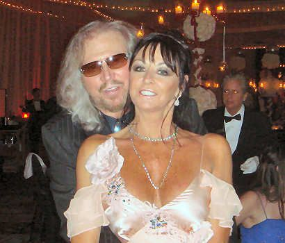 Linda Gray Linda Ann Gray and Barry Gibb