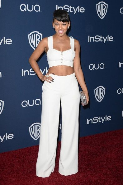 Pleasing Meagan Good Fashion And Style Meagan Good Dress Clothes Short Hairstyles For Black Women Fulllsitofus