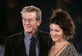 John Hurt  and Anwen Rees-Myers