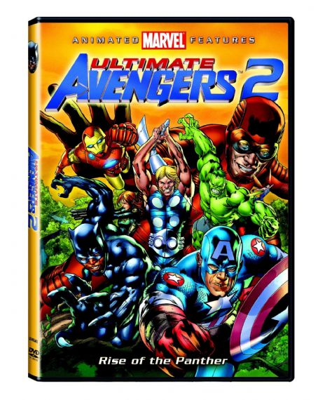 Ultimate Avengers II Ultimate Avengers 2: Rise of the Panther DVD Boxart - 2006