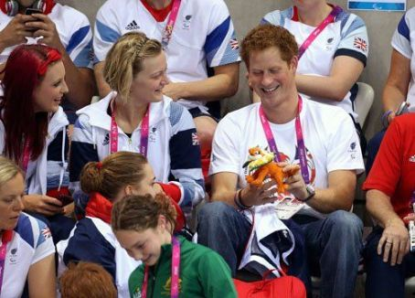 Prince Harry Windsor - Prince Harry at the 2012 London Paralympics (September 4)