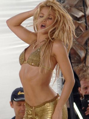Shakira Named Sexiest Female Singer of All Time