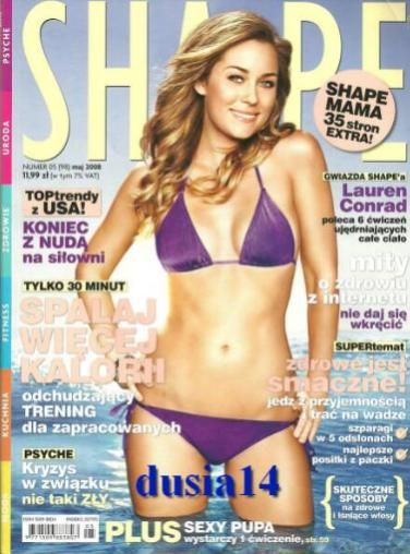 Lauren Conrad - Shape Magazine Cover [Poland] (May 2008)