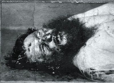 Grigory Rasputin Picture of the murdered Rasputin
