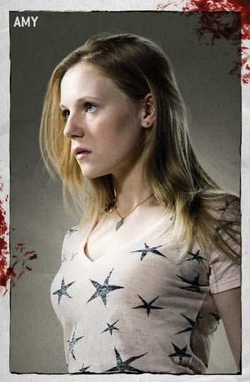 Emma Bell  as Amy on The Walking Dead (2010)