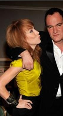 Kathy Griffin and Quentin Tarantino