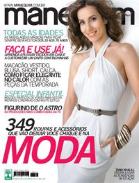 Tânia Khalil - Manequim Magazine Cover [Brazil] (October 2011)